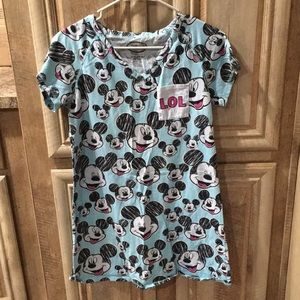"""Disney"" Minnie 100% Cotton Dress (Size S/M/CH/M)"